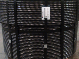 Toron à 7 fils d'acier compact